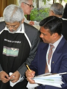 Golden Leaf India Judge Moshin Saify reports his scores.