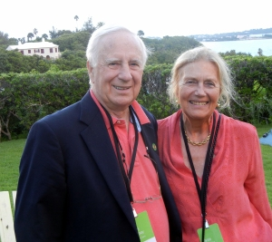 John and Elyse Harney, Bermuda, 2013.