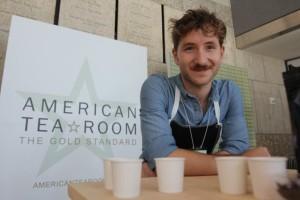 Jordan Huxley, Store Manager, American Tea Room.