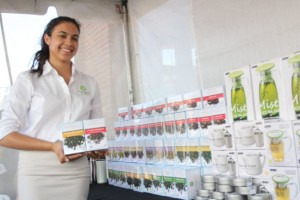 Jaqueline Sandoval, Operations Manager, Waterfall Tea Company.